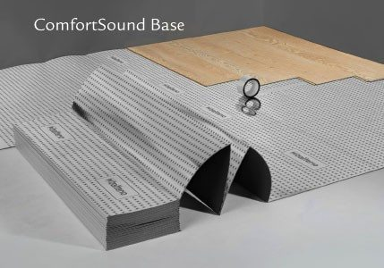 The right subfloor will absorb any sound