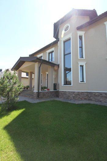 Houses Exteriors Design Idea House with Round Windows