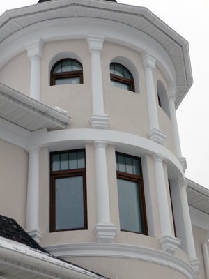 Houses Exteriors Design Idea House with A Small Tower
