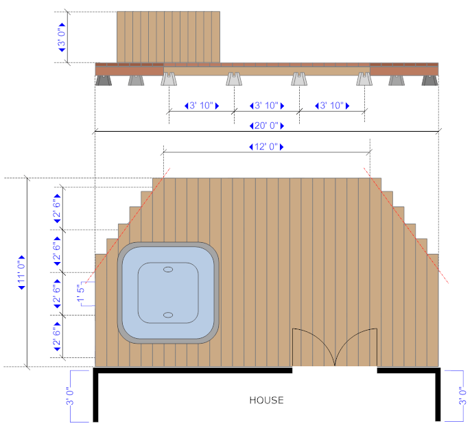 Deck design example