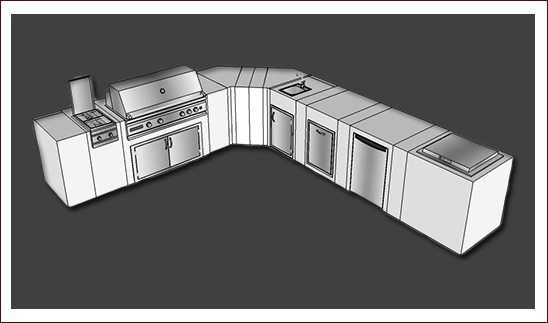 4 Outdoor Kitchen Ideas From Ox Box