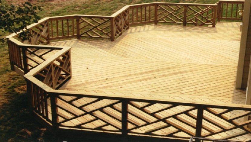 building deck plan  u0026quot the ambassador u0026quot   u2013 home improvementer