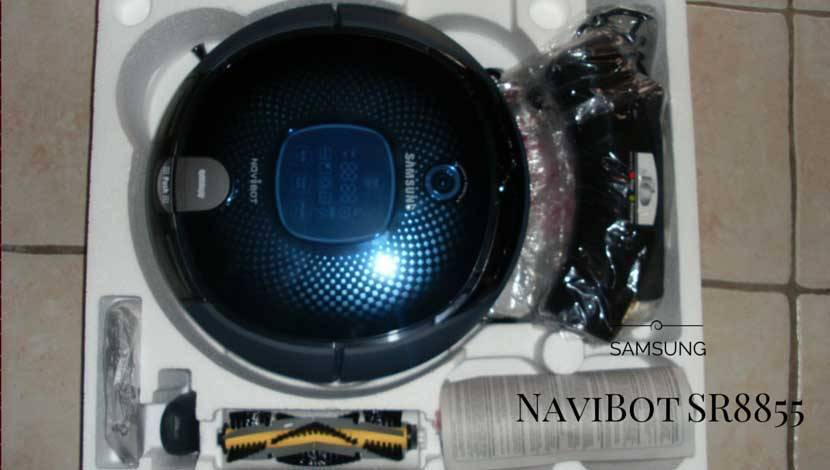 Samsung SR8855 NaviBot Robotic Vacuum Cleaner Review