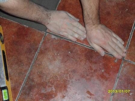 One Of The Easiest Way To Lay Tile