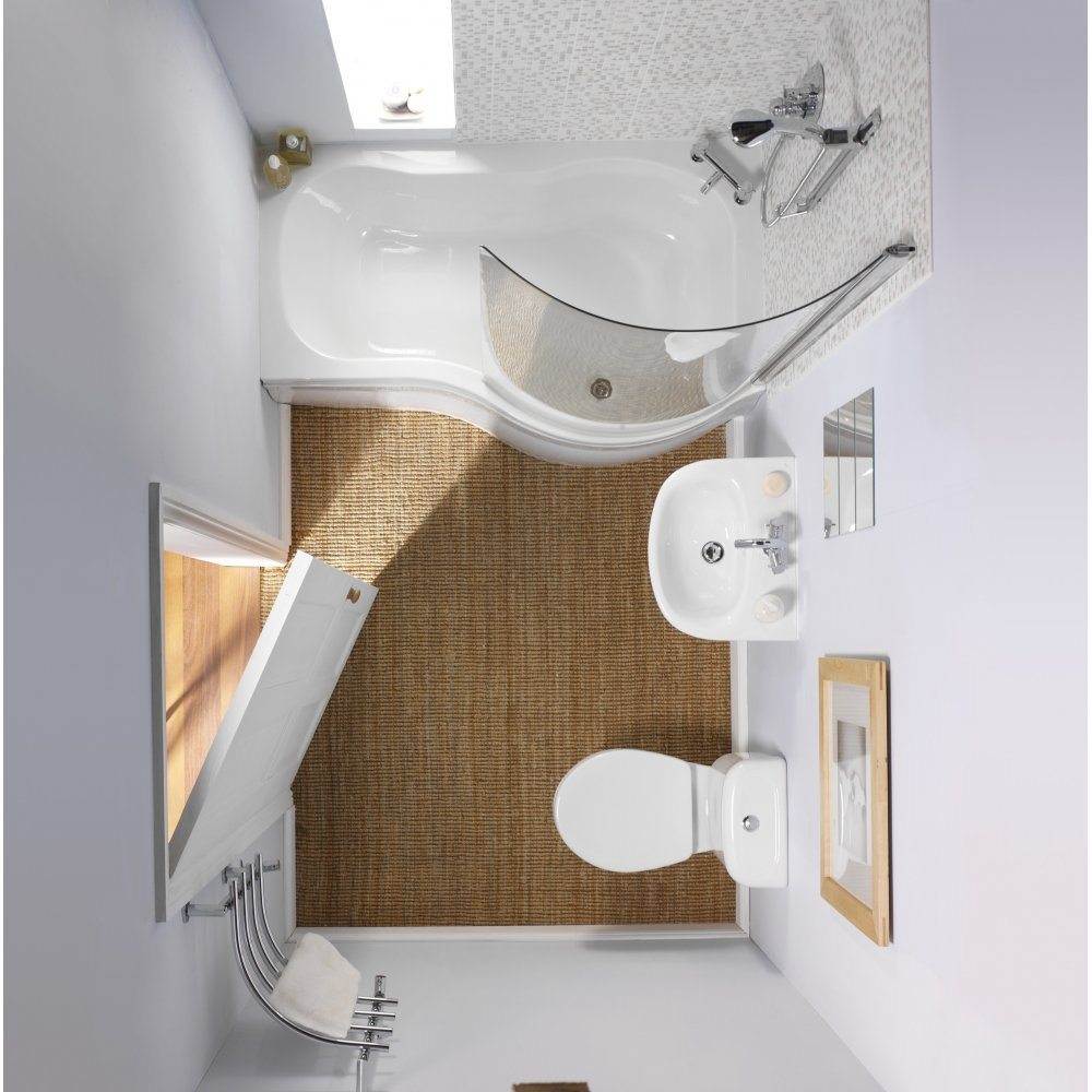 Small Bathroom Modern Style // lostspot.com