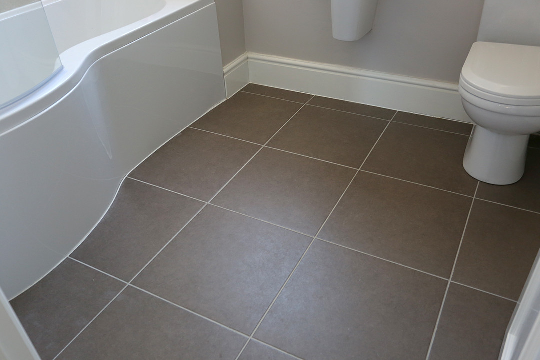 Choosing linoleum for your bathroom home improvementer for Lino laminate flooring