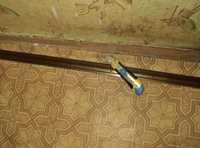 Old linoleum is about to get removed // polspec.com