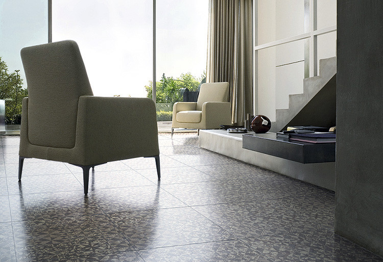 Marcel Wanders' new Sofia floor tiles is a perfect fit for any interior // rdh.ru