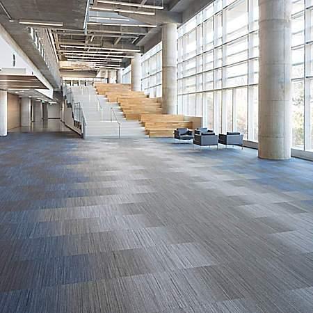 Modular carpet designs by Mohawk Group // mohawkgroup.com