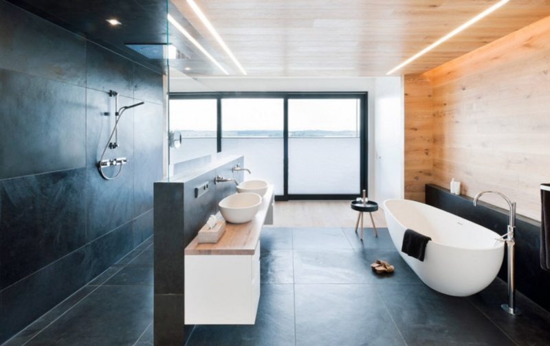 A minimalistic bathroom // pinterest.com